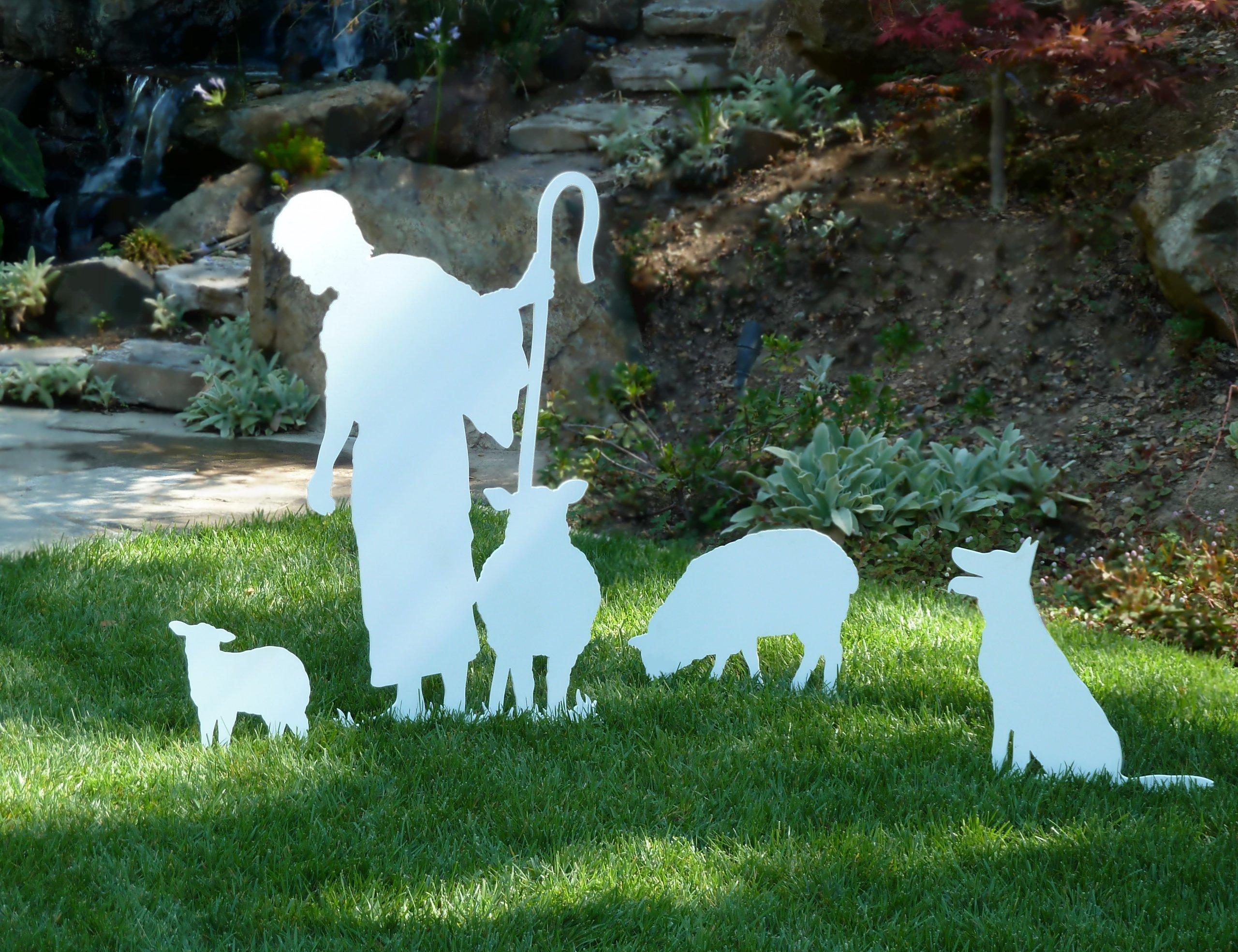 Large Standing Shepherd for MyNativity Outdoor Nativity Set (3 sizes available)
