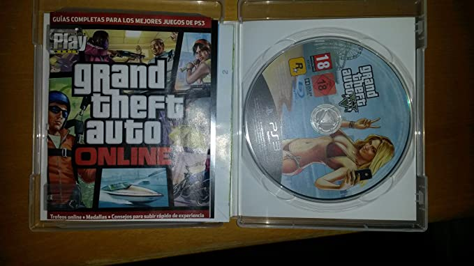 Grand Theft Auto V Gta V Ps3 Sony Playstation3 Amazon Es
