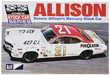 amazon com mpc 796 donnie allison s mercury stock car 1 25 scale