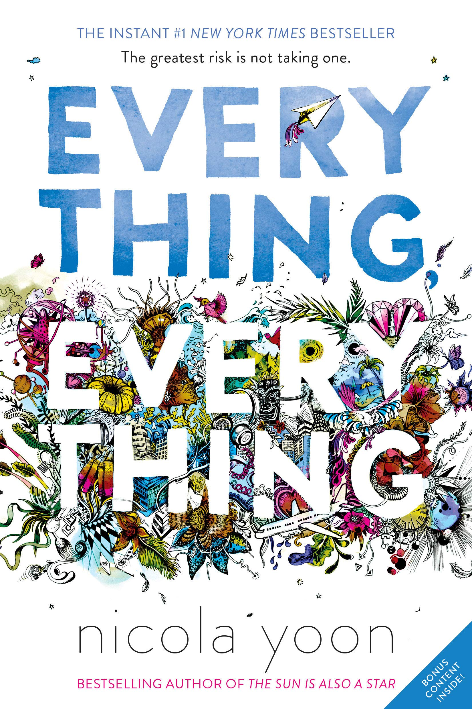Amazon.com: Everything, Everything (9780553496673): Yoon, Nicola: Books