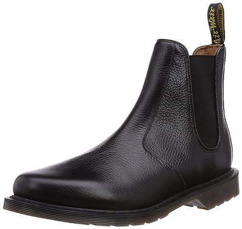 Victor New Nova Black, Mens Chelsea Boots Dr. Martens