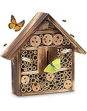 Relaxdays Hôtel à Insectes Marron