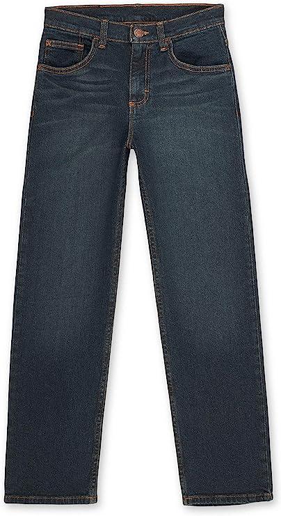 Amazon.com: Wrangler Boys' Straight Fit Jean, Dark Night, 7: Clothing