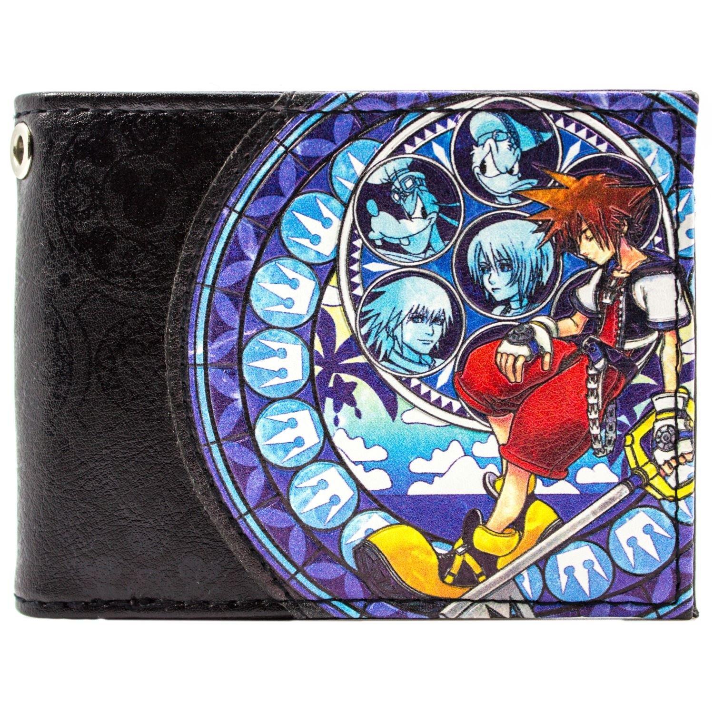Kingdom Hearts 2 Sora Paperino Pippo Blu portafoglio 29404