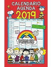 Calendario Agenda 2019 - PEANUTS (29x44)