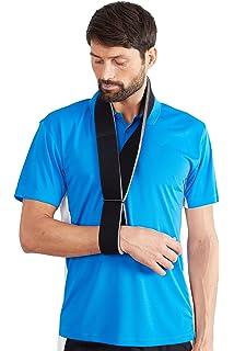 7a8e5e417ec Actesso Foam Arm Sling - Shoulder Support - Collar and Cuff Sling for  Broken Wrists