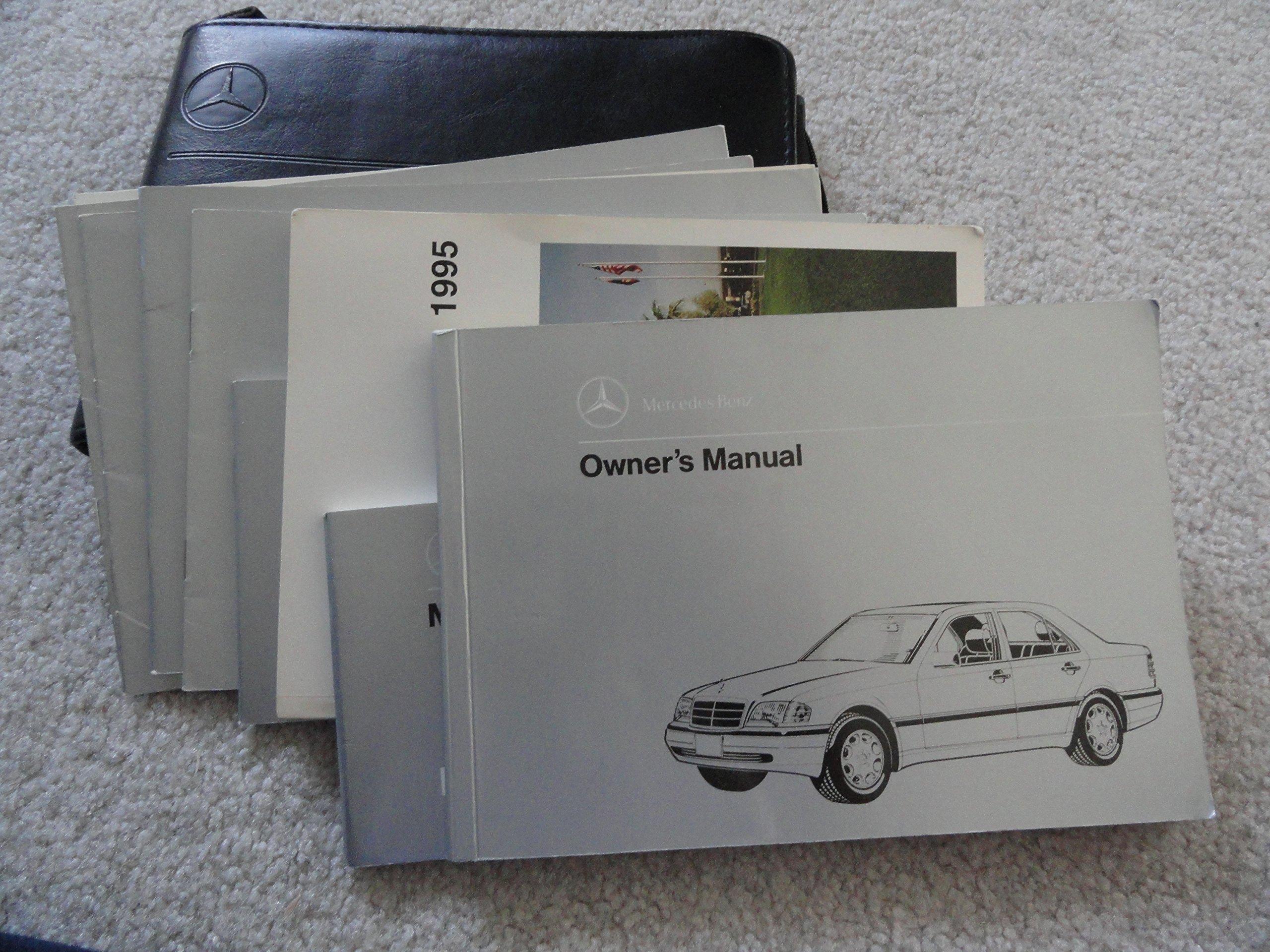 1995 Mercedes Benz C220 C280 C36 AMG Owners Manual: Mercedes Benz:  Amazon.com: Books