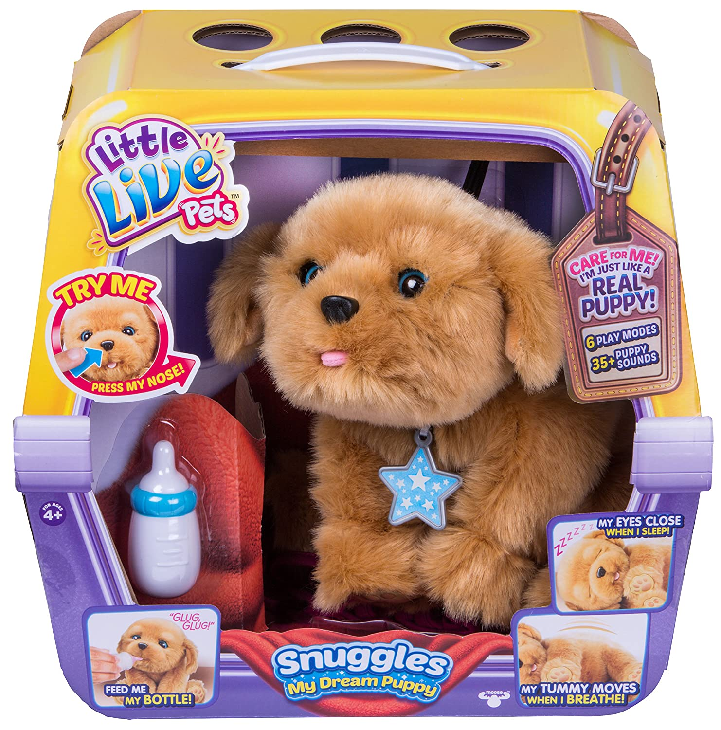 Buy Little Live Pets Snuggles My Dream Puppy Playset line at Low