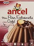 Ancel Mon Flan Entremets parfum café 4 sachets