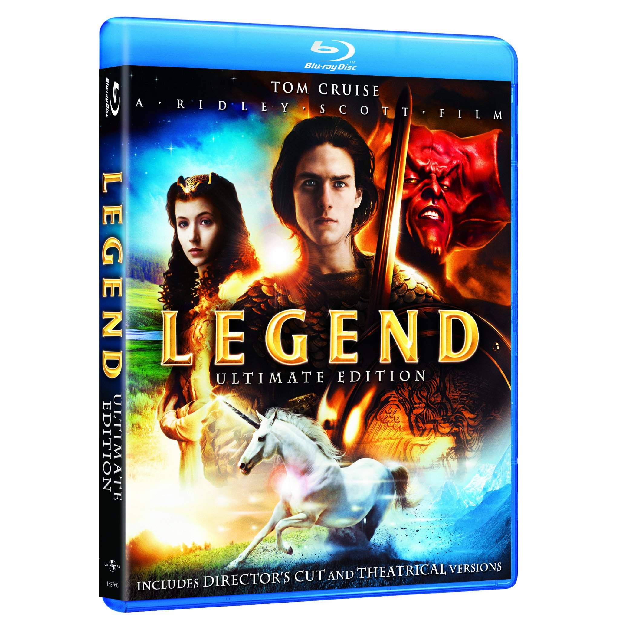 Blu-ray : Legend (Unrated Version, Rated Version, , Widescreen)
