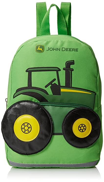 John Deere Tractor 13 inch mini mochila