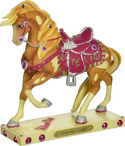 Enesco Trail of Painted Ponies Rhinestone Cowgirl Figurine, 7.2