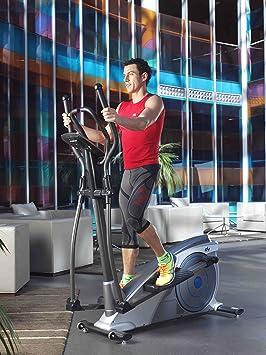 ION Fitness SHARP FI230 Bicicleta eliptica.Volante de inercia 8kg. Freno magnetico.Zancada