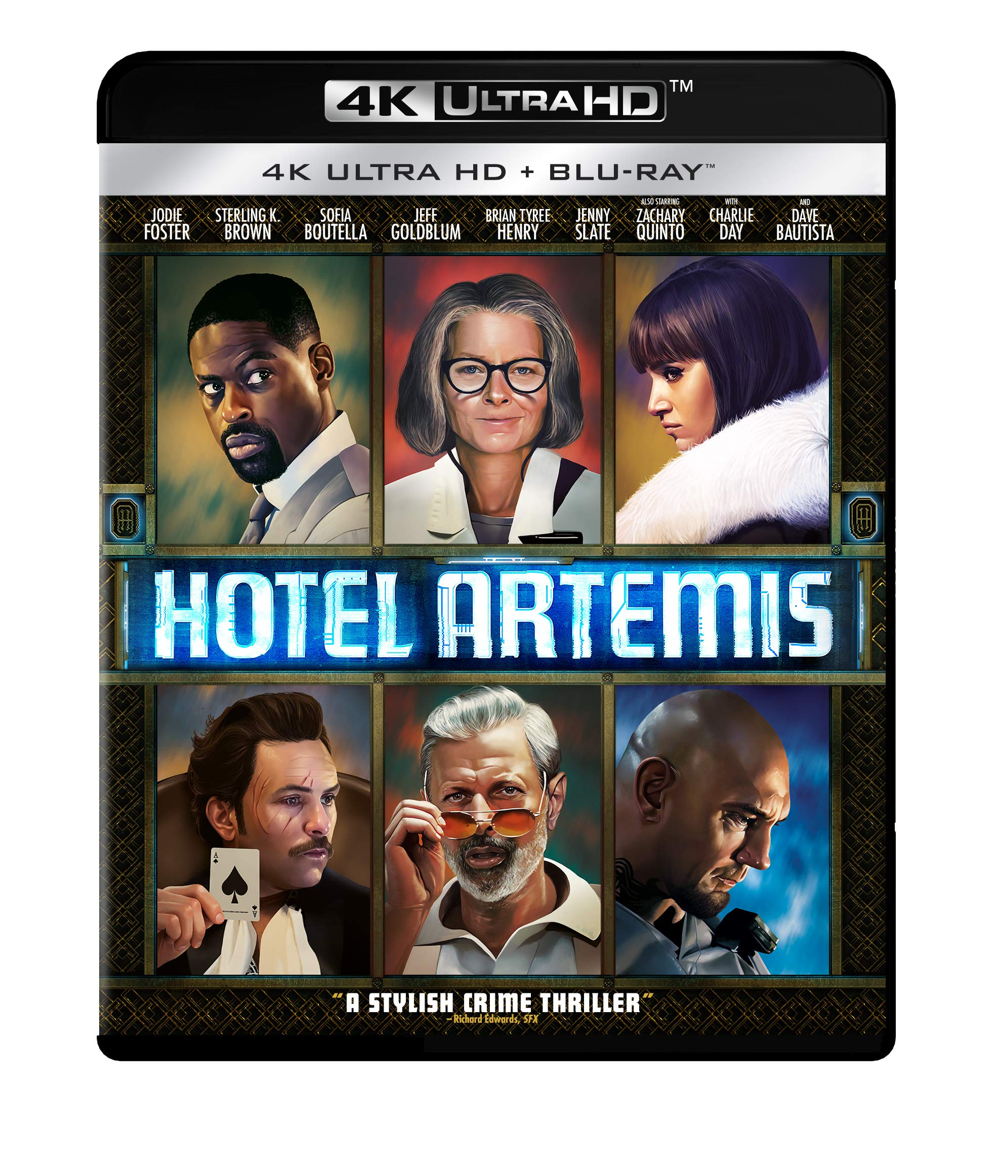 4K Blu-ray : Hotel Artemis (Widescreen, Snap Case, 2 Pack, Subtitled, Dubbed)