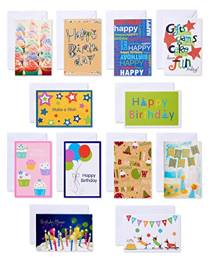 Amazon American Greetings Assorted Kids Birthday Cards With