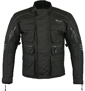 /Resistente al Agua/ /Negro /Protectores Despu/és de CE 1621/ Bikers Gear UK Motocicleta de Pantalones Cargo/ /Cordura /& Spandex/ /1/