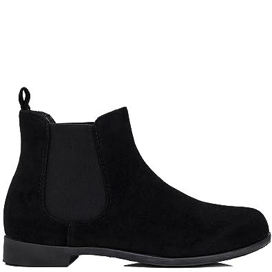 Femmes Spylovebuy Plates Chaussures Bottines Parkin F6qw5qgYB