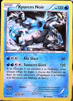 Carte Pokémon Xy160 Kyurem Noir 130 Pv Holo Promo Amazon