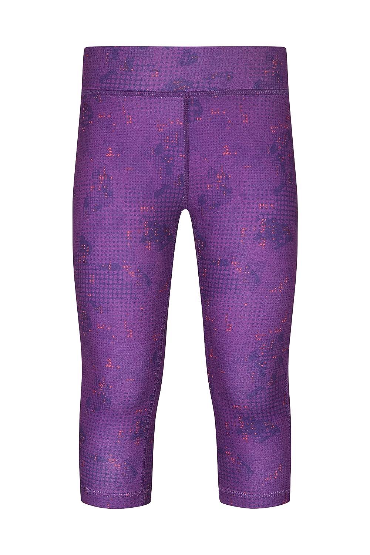 Mountain Warehouse Printed Girls Capri Leggings - Casual Summer Pants