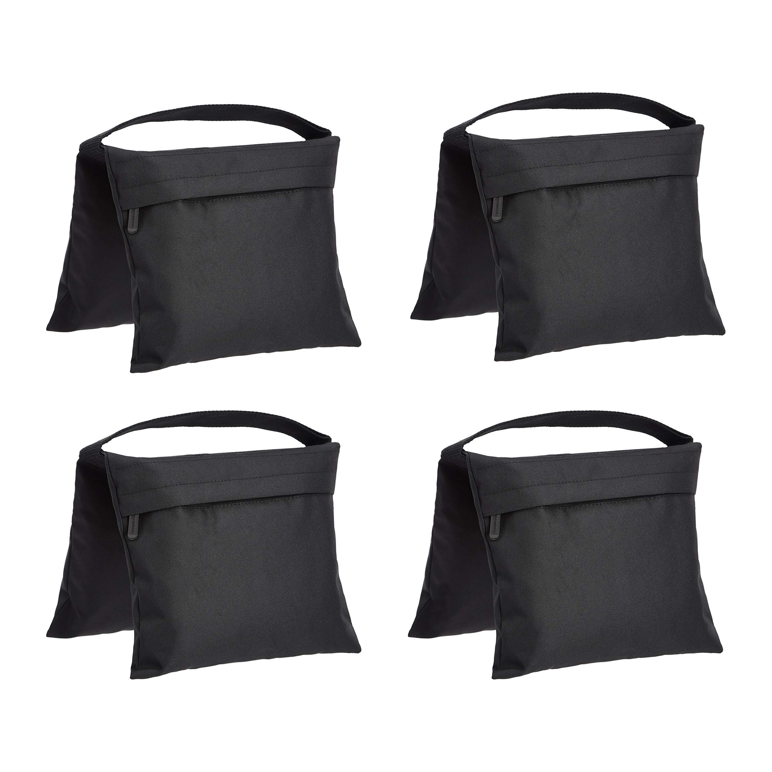 AmazonBasics Photographic Empty Sandbag for Light Stands, 4 Pack by AmazonBasics