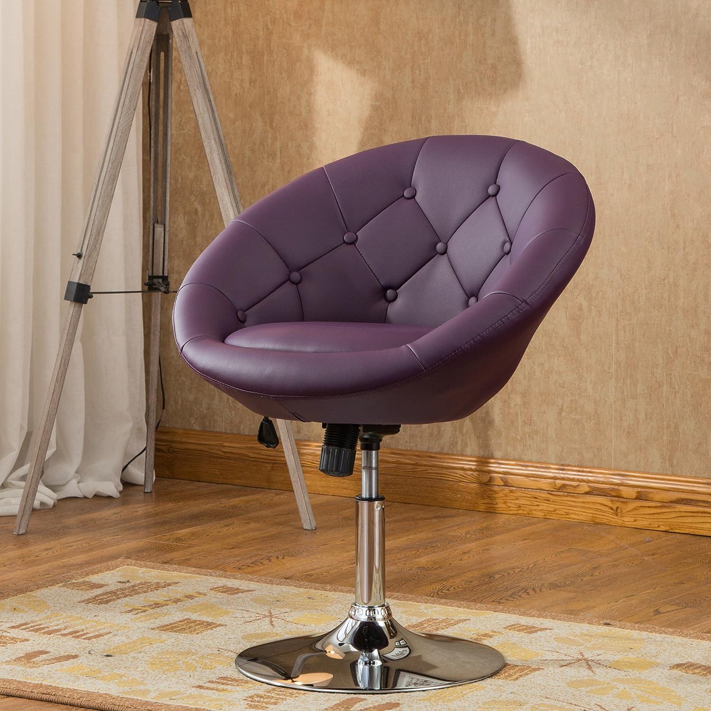 Amazon Roundhill Furniture Noas Contemporary Round Tufted
