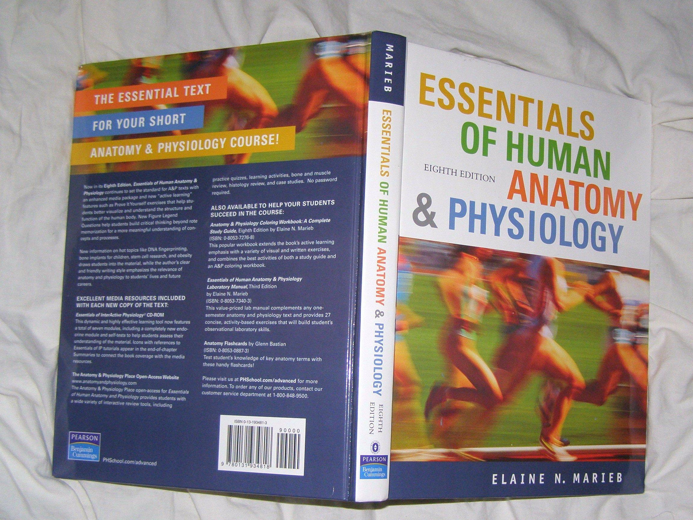 Essentials of Human Anatomy and Physiology: Amazon.es: Elaine Marieb ...