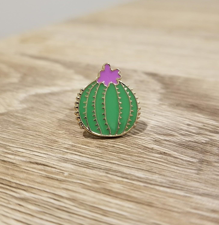 Cute Cactus Enamel Lapel Pin Brooch