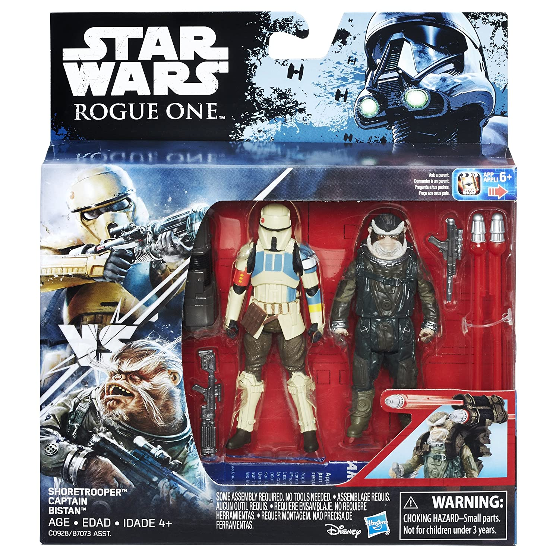 Bistan Hasbro C0928AS0 Star Wars Rogue One Shoretrooper Captain vs