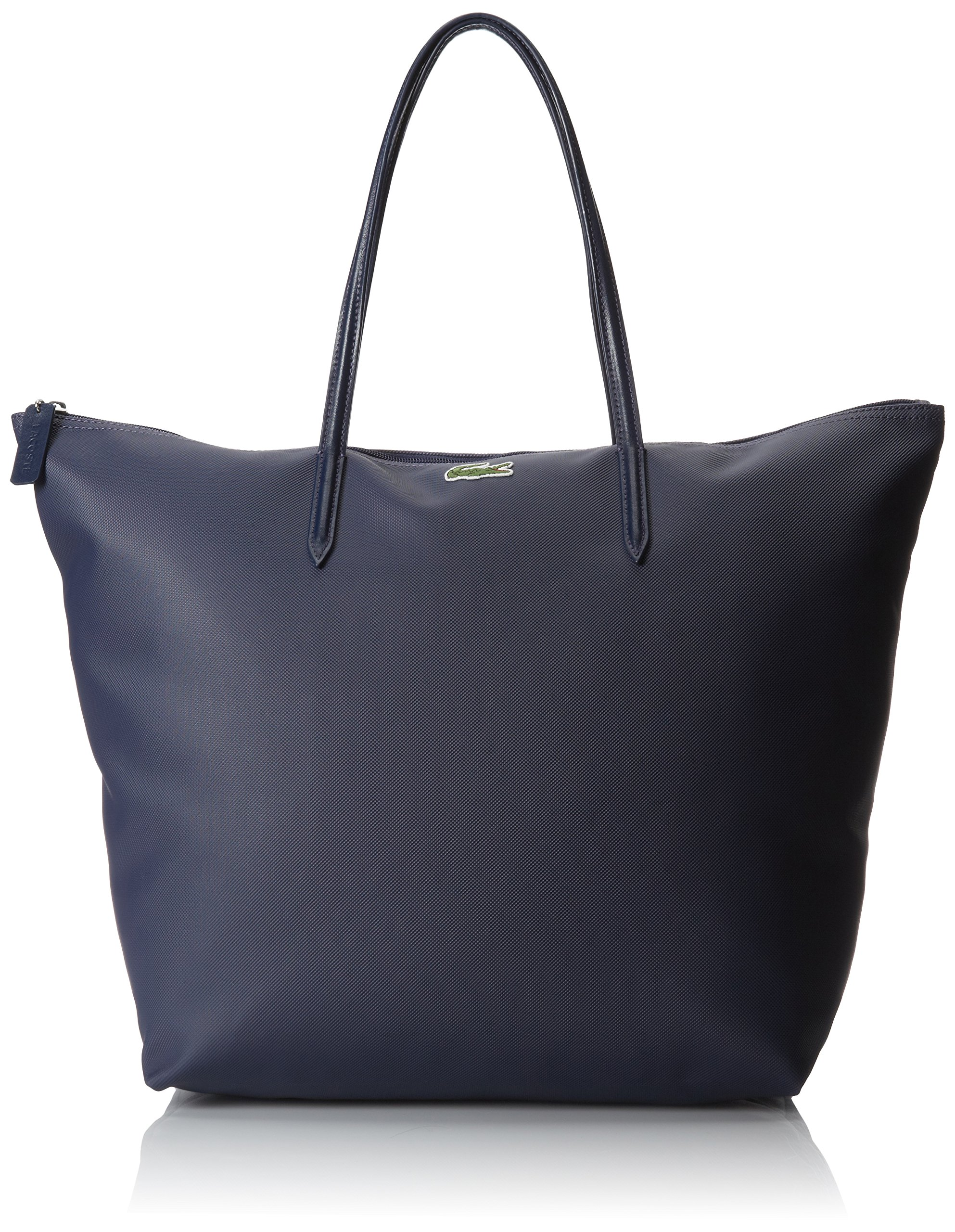 Lacoste Women's Concept Travel Shopping Bag, Shadow Blue, One Size by Lacoste