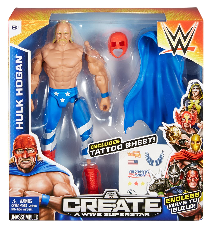 wwe hulk hogan action figure amazon