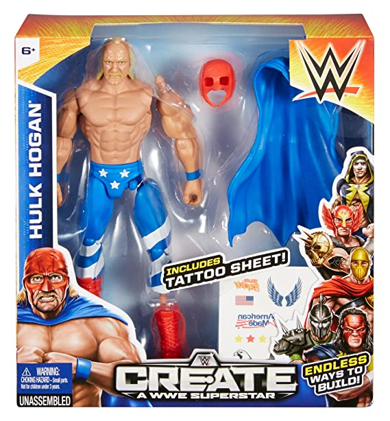 WWE Create a Superstar Chest piece Wrestling
