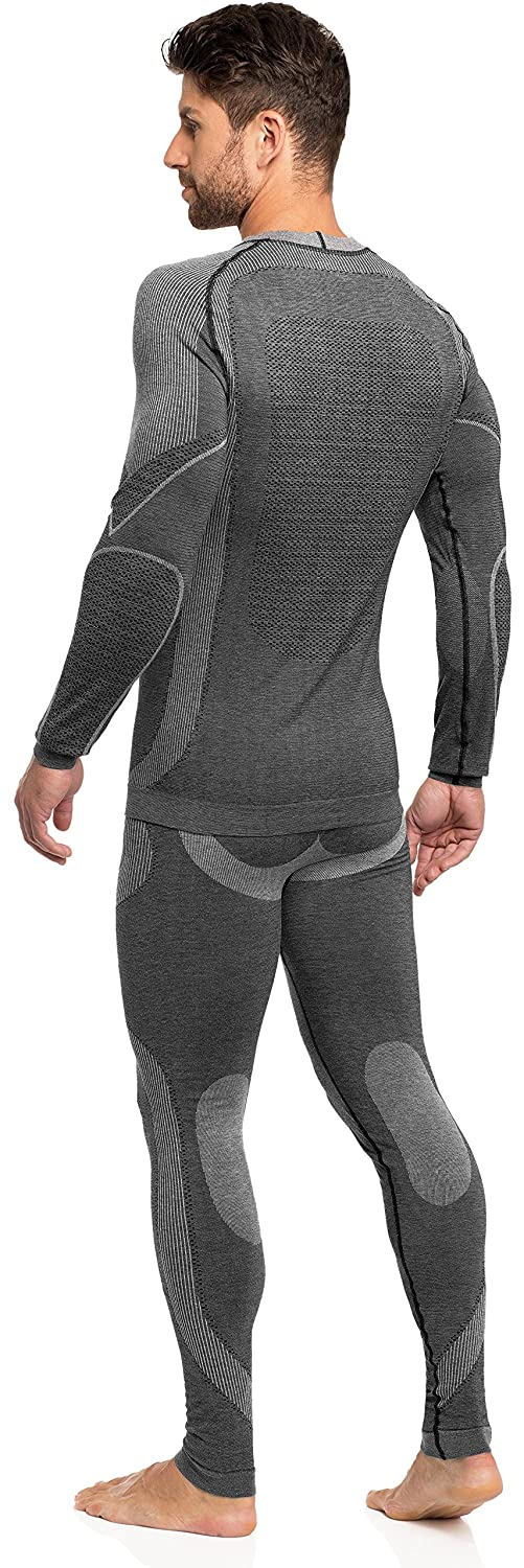 Ladeheid Mens Functional Underwear Long Johns and Long Sleeve Shirt Thermoactive 05 21 15