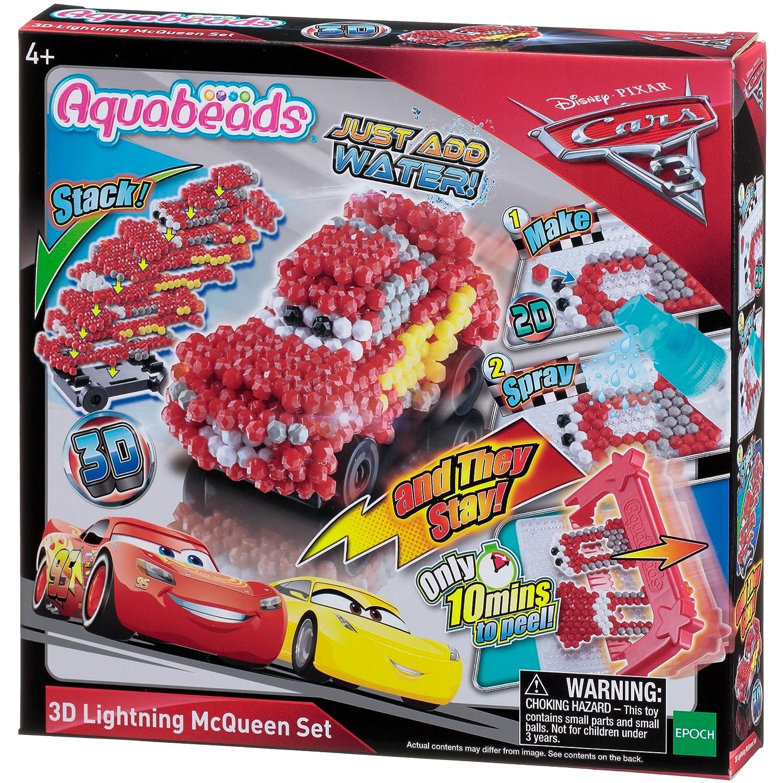 Aquabeads Cars 3 3D Lightning McQueen Set