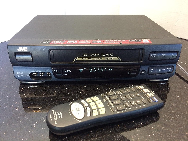 JVC HR-J643U 4-Head Hi-Fi Stereo VHS VCR