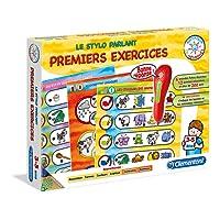 Clementoni 52093-ADN - Mon Stylo parlant - Premiers Exercises-Jeu éducatif