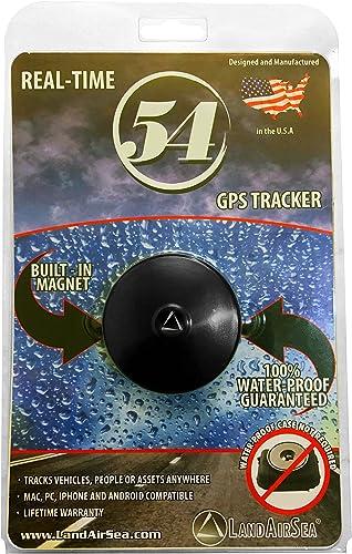 LandAirSea 54 Waterproof Magnet Mount Real Time 4G LTE GPS Tracker