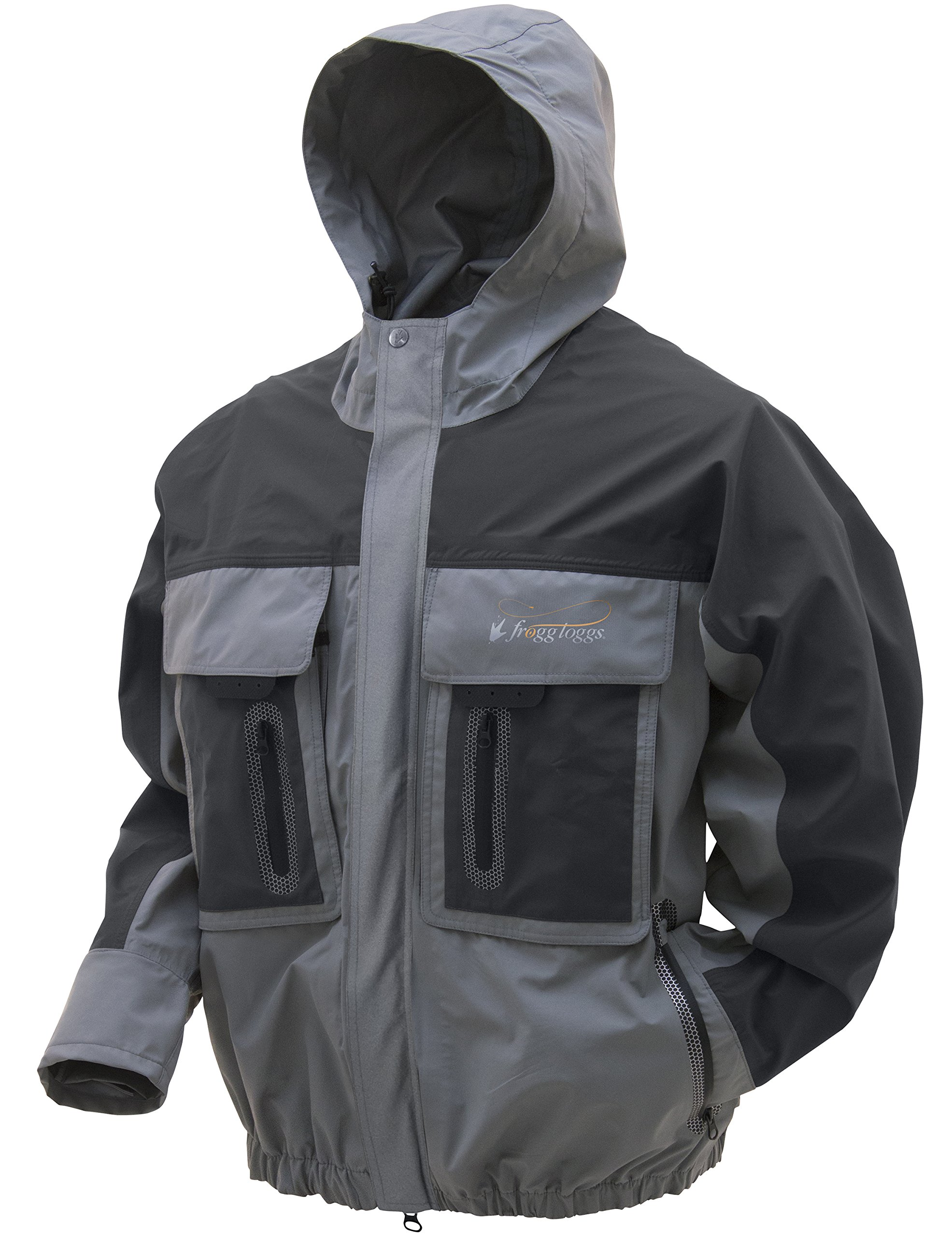 Frogg Toggs Pilot 3 Guide Rain Jacket, Slate/Gray, Size X-Large by Frogg Toggs