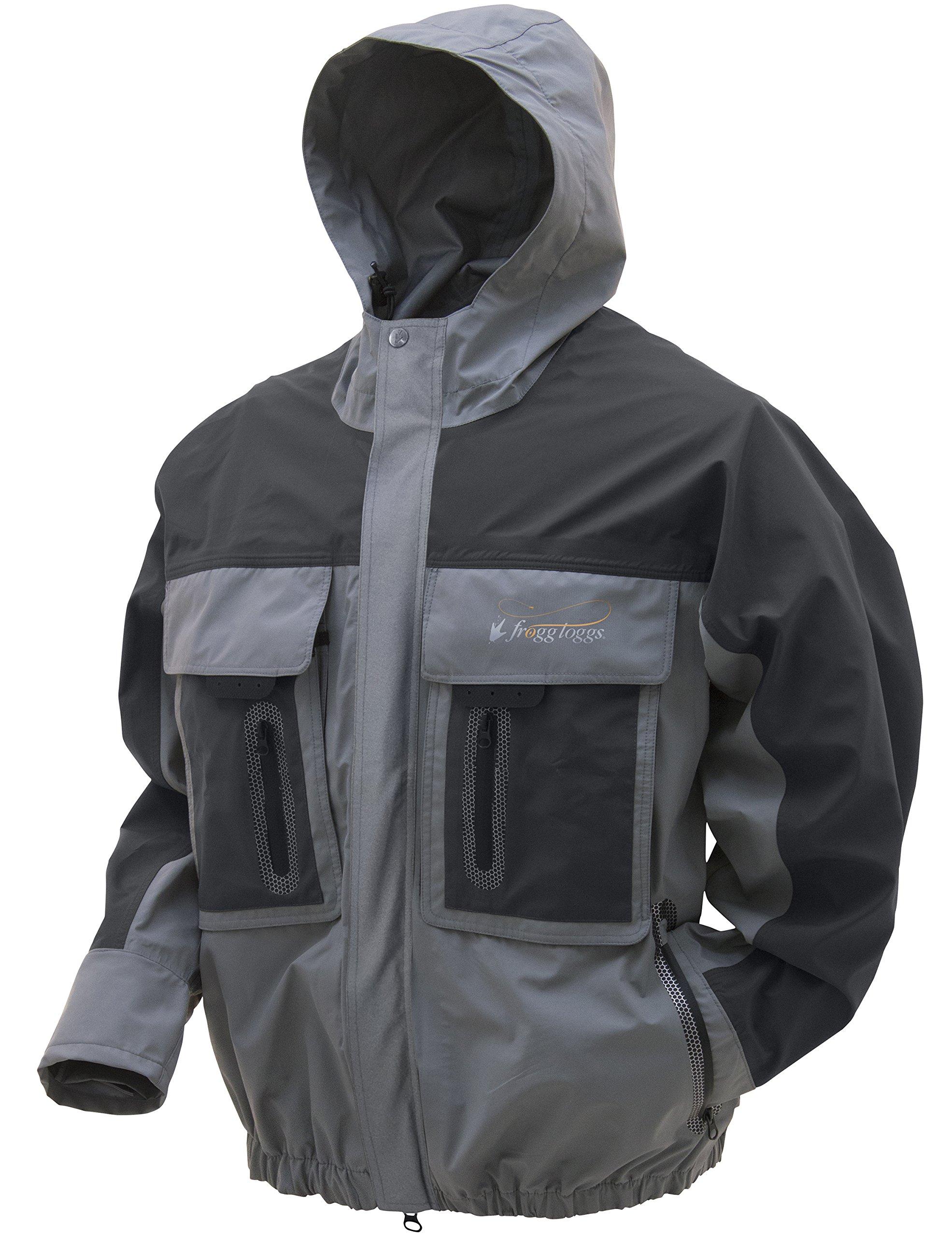 Frogg Toggs Pilot 3 Guide Rain Jacket, Slate/Gray, Size XX-Large