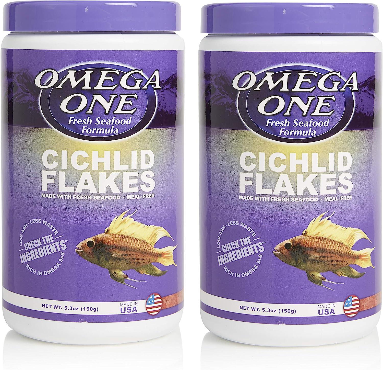 Omega One Cichlid Flakes