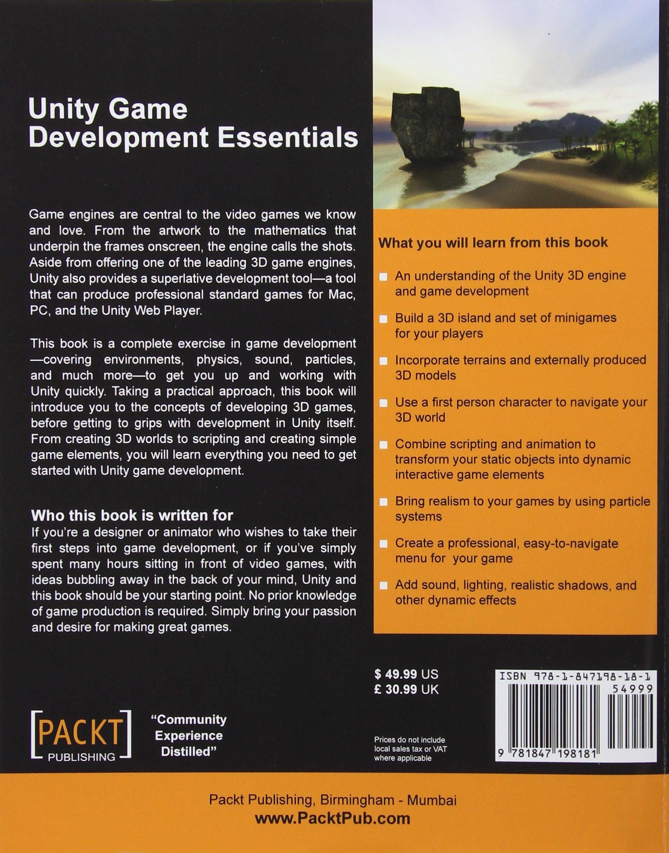 Unity Game Development Essentials: Amazon co uk: Will