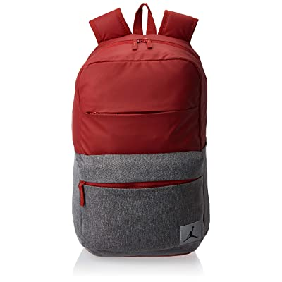 Nike Jordan Pivot Colorblocked Classic School Backpack (Gym Red): Computers & Accessories