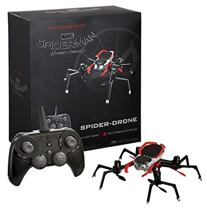 NEW Marvel Spider-Man Homecoming Spider-Drone Official Quadcopter ...