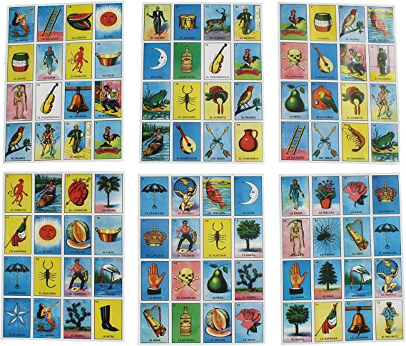 Amazon Com Trade Mx Super Jumbo Loteria Mexican Bingo 24 X 18 Supersized Cards Toys Games