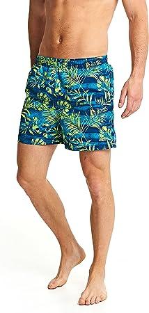 TALLA L. Zoggs hombres del descubrimiento Pantalones cortos