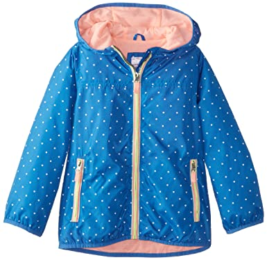 Amazon.com: Carter's Girls' Lightweight Jacket with Polka Dot ...