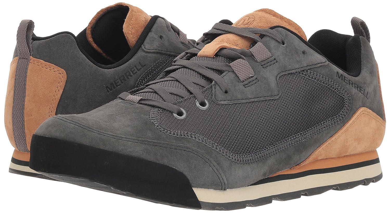 Merrell Mens Burnt Rock Travel Suede Hiking Shoe J95237-8.5-M