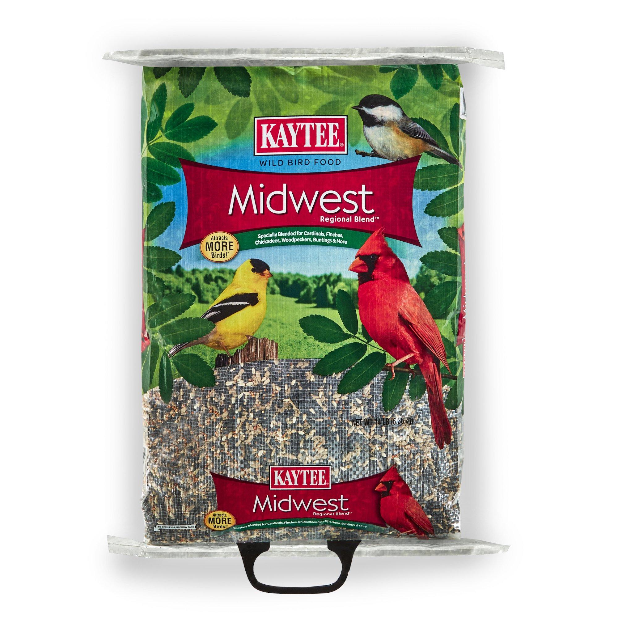Kaytee Midwest Regional Wild Bird Blend, 14-Pound Bag by Kaytee