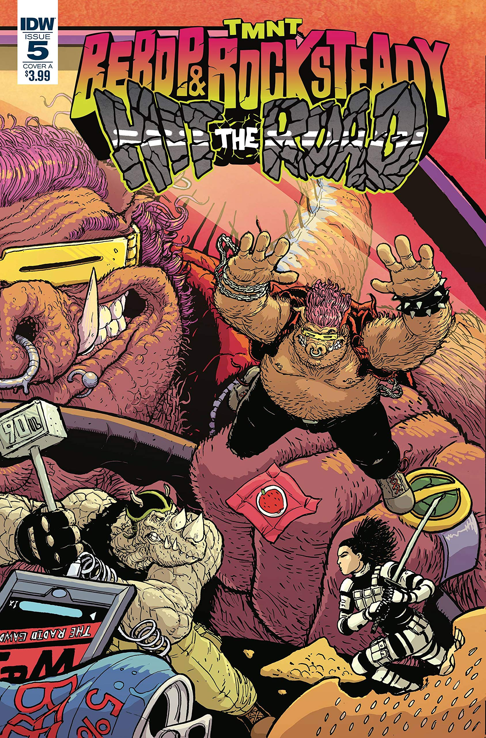 TEENAGE MUTANT NINJA TURTLES BEBOP ROCKSTEADY HIT THE ROAD ...