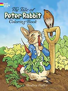 The Tale Of Peter Rabbit Coloring Book Dover Classic Stories