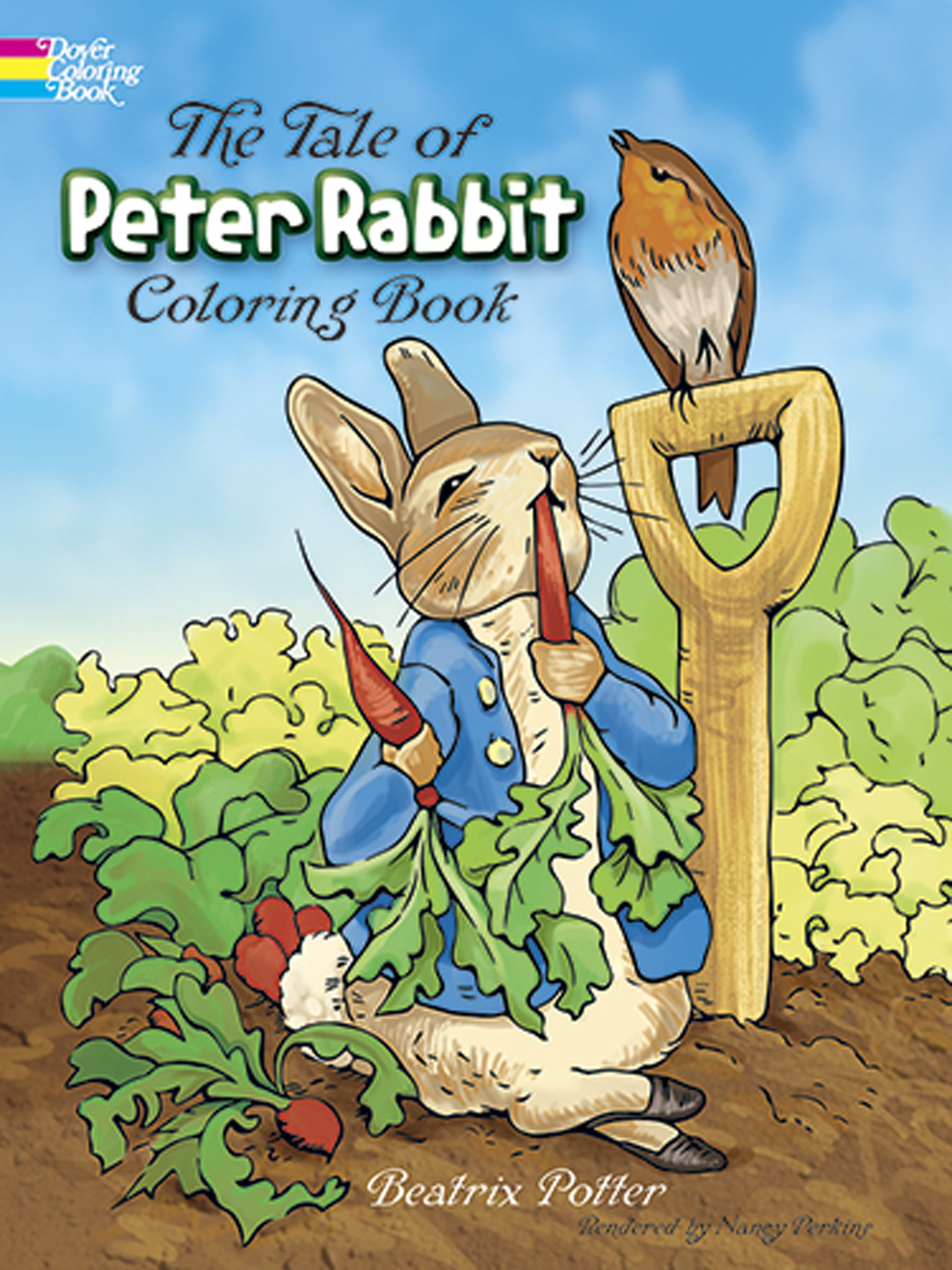 - The Tale Of Peter Rabbit Coloring Book (Dover Classic Stories
